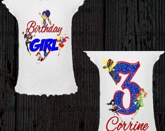 DC Superhero Girl's Birthday Shirt - DC Superhero Girls Shirt