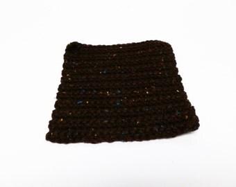 Handmade Multicolored Square Crochet Trivet / Potholder / Dishcloth