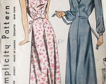Vintage pattern Simplicity 4456, bust 34