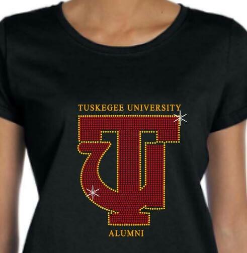 Tuskegee Rhinestone T Shirt