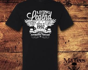 25th birthday tshirt | Etsy