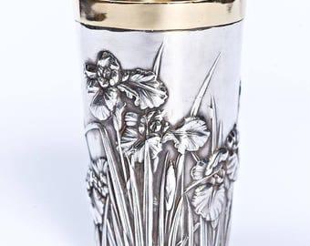 "Silver glass ""Iris"" 1306 (big)"