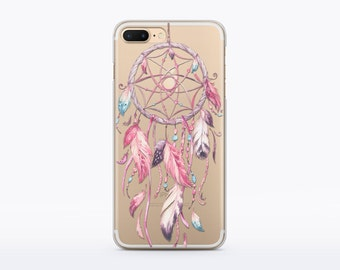 iPhone 6 Case Clear iPhone 6 Plus Case Silicone Dream Catcher iPhone Case Phone Case iPhone 7 Case Art iPhone 7 Plus Decal LG Case CMCP13