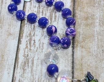Butterfly Pocket/Children's Prayer Beads