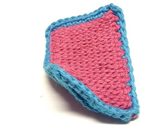 Towel crochet, dishcloth cotton, Tunisian crochet, dishcloth, absorbent sponge