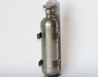 Rare, 1-2-3 Trade Mark Fire Extinguisher - Boka Manufacturing Corp, Philadelphia PA