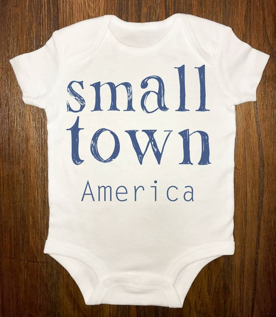 small town america-onesie