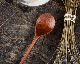 Wooden Spoon - Eating Spoon - Hand Carved - Walnut spoon - Eco Friendly - Natural Eating