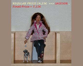 SALE 50% Coat Barbie handmade clothes