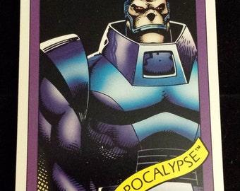 Apocalypse #80 - 1990 Marvel Universe Series 1 Base Trading Card