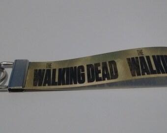 The Walking Dead Key Fob Keychain Wristlet