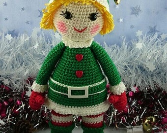 Pattern / Tuto : Zoé fête Noël