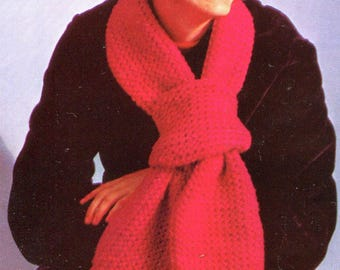 Vintage Newsboy Cap & Scarf Crochet Pattern PDF Instant Download