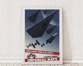 Star Wars Propaganda Poster Art Film Poster Movie Poster