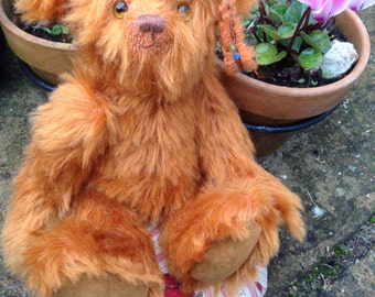 Toyah, a hand made limited edition collector's bear