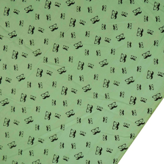 Designer Fabric Home Decor Fabric Printed Fabric Dress Material Green Fabric Sewing Craft