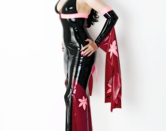 Geisha Latex Gown