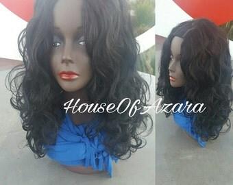 100% Human Hair Yaki Body Wave Upart Wig