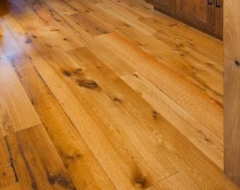 Authentic Reclaimed Oak Flooring