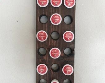 Handmade Wooden Keurig K-Cup Rack
