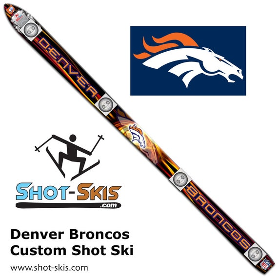 Denver Shooting Market: Denver Broncos Shot Ski