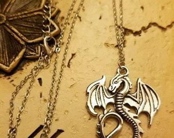 Dragon Necklace,  Pendant