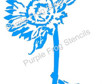 Sunflower STENCIL (Reusable) Different Sizes,Flowers, Summer