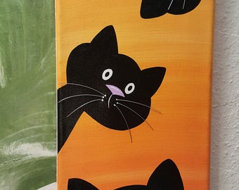 Painting CRAZY CATS