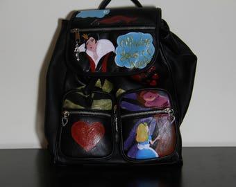 Backpack Queen of Hearts | Alice in Wonderland