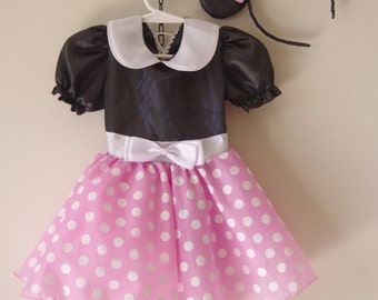 Mimi Pink - inspired - Girls dress