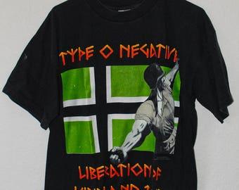Vintage Type O Negative Tour t shirt