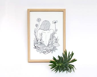 Bloom - Illustration Print