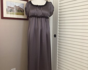Jane Austen Regency Gown by Iblamejanetoo - US Size 12.