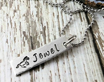 Horse Necklace Personalized~ Horse Lover Gift~ Horse Jewelry~ Horse Art~  Horse Gifts for Girls~ Horse Lover