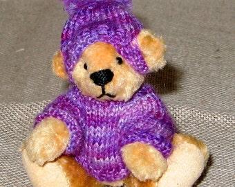 SALE Hand made miniature artist bear