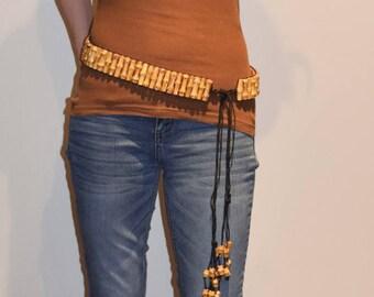 Bamboo Root Fashion Belt