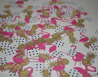 Flamingo Confetti~Flamingo Party Decor~Flamingo Pineapple Confetti~Flamingo Party~Flamingo Decor~Pineapple Decor~Pineapple~Flamingle~PD001