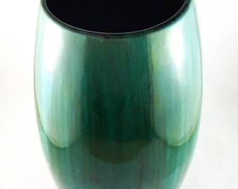 Classic Blue Mountain Pottery Vase