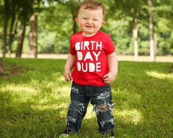 Birthday Dude Shirt, Boy Birthday Shirt, Birthday Shirt, Birthday TShirt, Birthday Dude Tshirt, Birthday Boy Shirt, 1st Birthday Shirt
