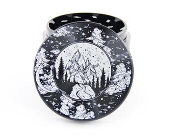 Mountain stream Herb Grinder - 2.2""