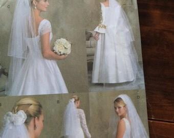 Vogue V7861 Wedding Veils Sewing Pattern