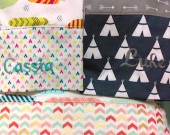 Pillowcase, Monogrammed Pillowcase, Travel Pillowcase, Camp Pillowcase, Summer Camp Pillowcase, Church Camp Pillowcase