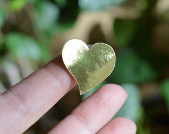 Gold Foil Stickers Heart Stickers Silver Foil Stickers Gift Wrap Favor Stickers