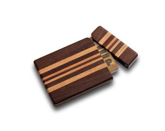 Hardwood Business Card Case