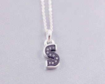 s letter necklace s initial necklace s letter necklaces personalised jewelry minimal necklace s tiny letter necklace s jewelry