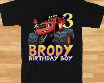 Blaze and the Monster Machines T-Shirt - Boys