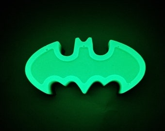 Black/GLOW-in-the-Dark Batman Emblem - Make it a MAGNET for free! Just ask!