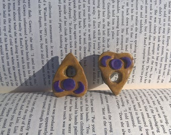 Polymer clay planchette plugs