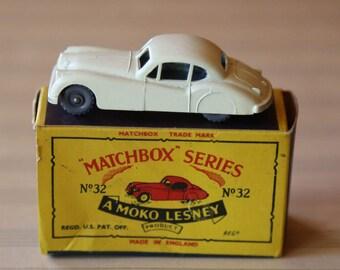 Vintage Matchbox No.32 Jaguar XK 140 New in Original Box | Vintage Matchbox Car