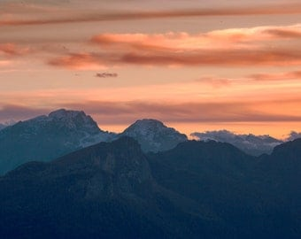 Warm colours in the evening at Passo Giau, @Dolomites